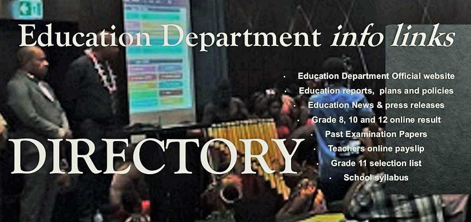 PNG Education Department Information