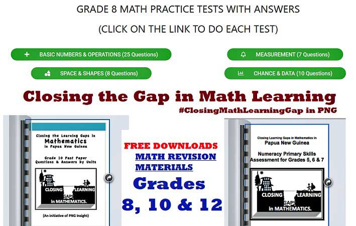 Math MCQ Practice tests with answers